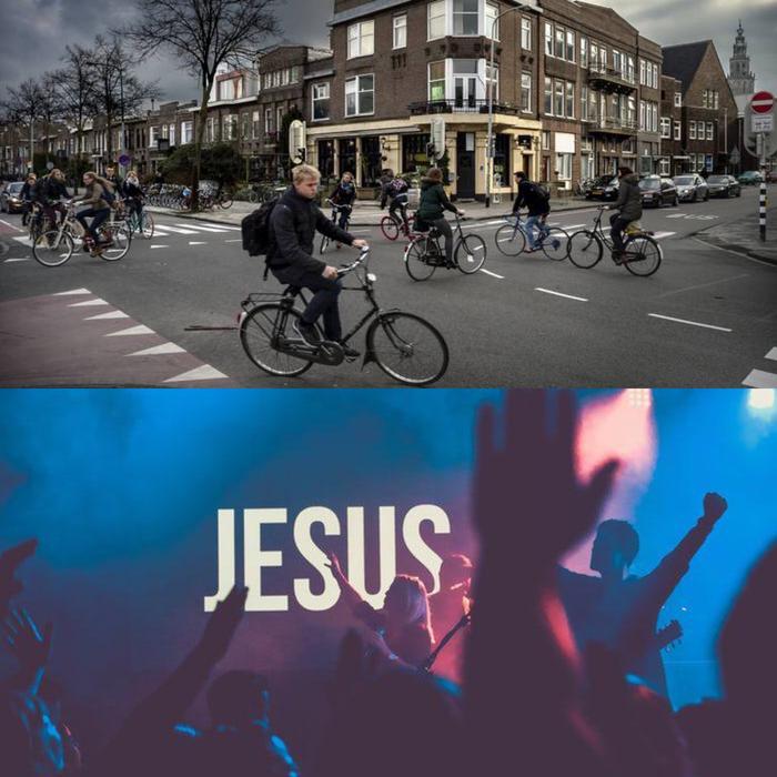 """Nog even over de kring"" - aanbidding"